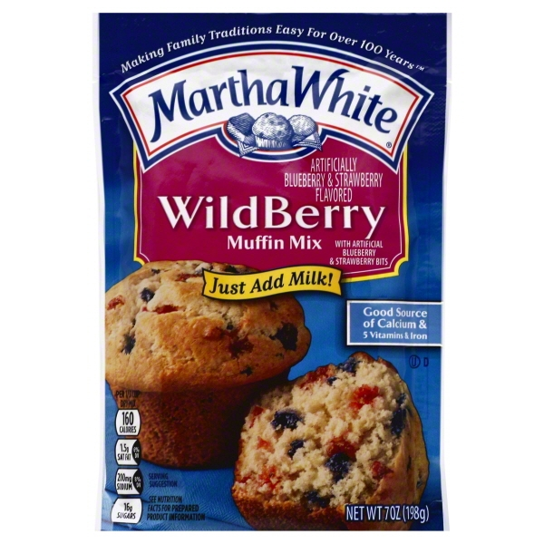 Martha White Wildberry Muffin Mix, 7 oz