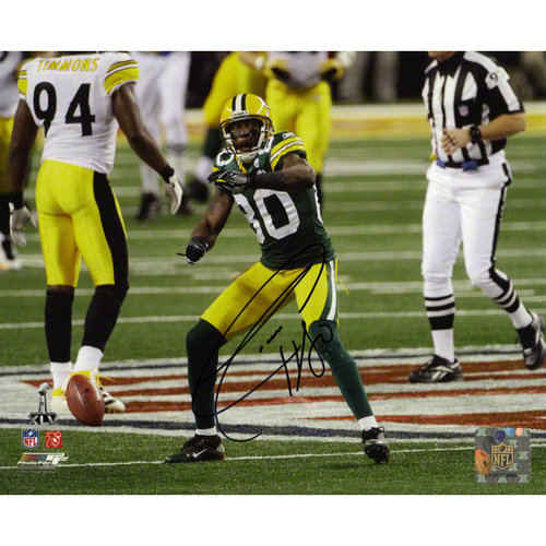 NFL - Donald Driver Autographed Photograph   Details: Green Bay Packers, 8x10, Super Bowl XLV