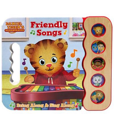 Daniel Tiger's Friendly Songs (Board Book)](Daniel Tiger Gifts)