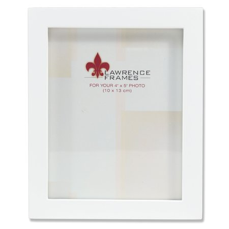 4x5 White Wood Picture Frame - Gallery Collection - Walmart.com
