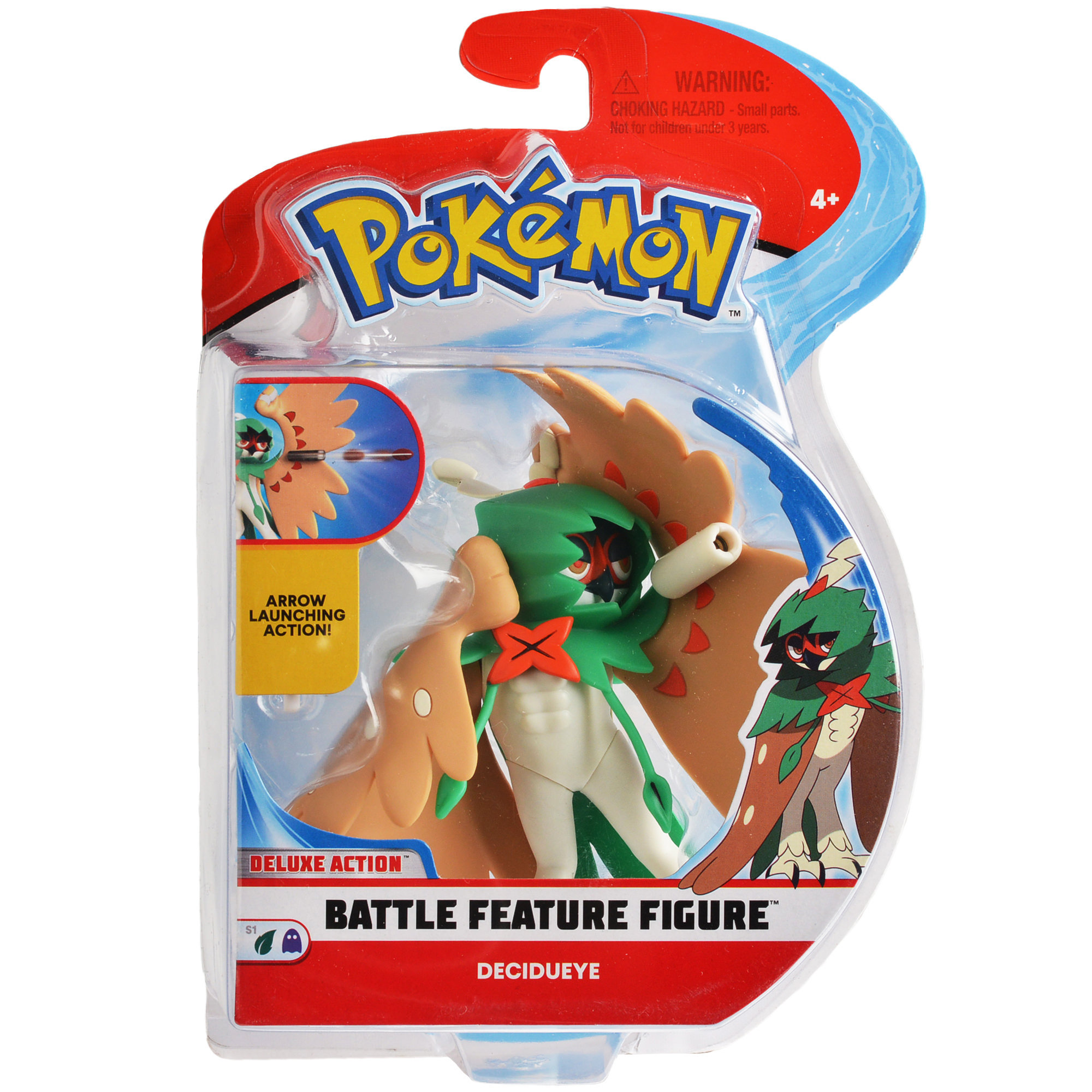 "Pokémon 4.5"" Feature Action Figure - Decidueye"