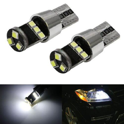 Xenon White Canbus Error Free W5W 2825 LED Bulbs For Mercedes Parking Lights