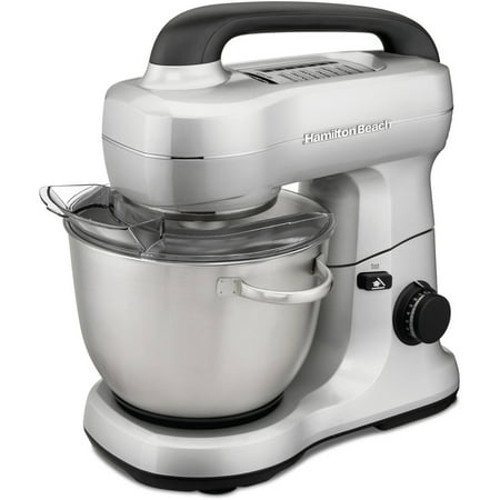 Hamilton Beach 7 Speed Silver Stand Mixer | Model# (Best Dough Mixer For Roti)