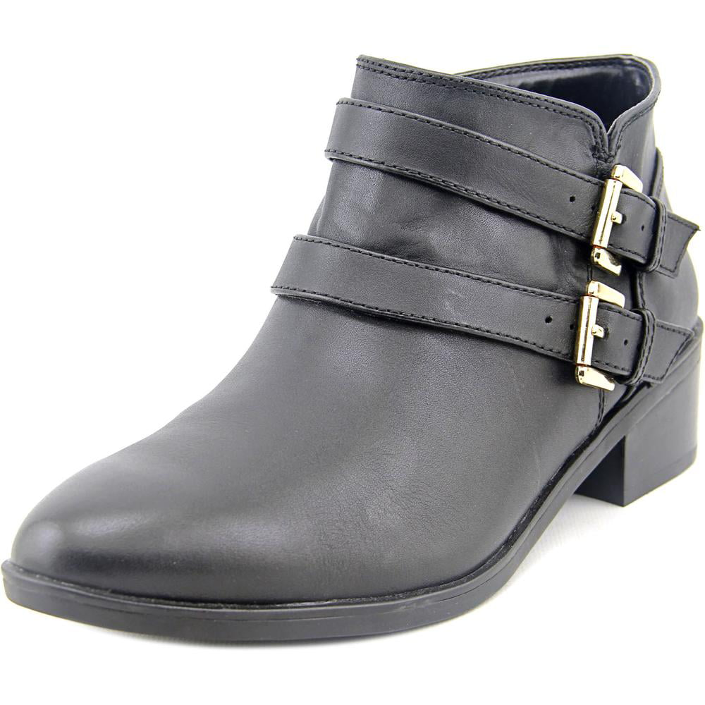Click here to buy Bella Vita Frankie Women WW Round Toe Leather Black Bootie by Bella Vita.