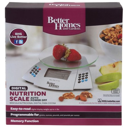 better homes and gardens nutritional scale - Better Homes And Gardens Digital
