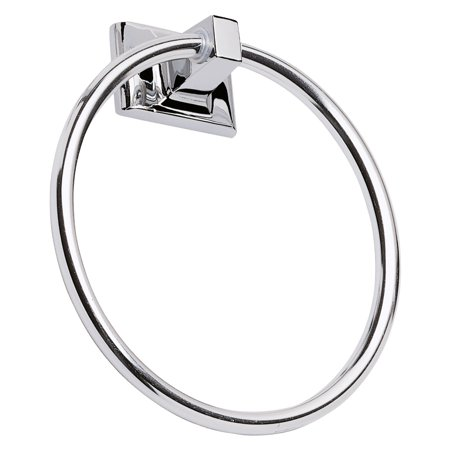 Design House 533091 Millbridge Towel Ring, Polished - Contour Towel Ring
