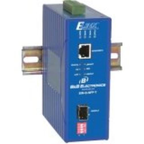 B&b Ethernet Media Converter Gigabit - 1 X Network [rj-45] - 10/100/1000base-t, 1000base-sx/lx - 1 X Expansion Slots - Rail-mountable, Panel-mountable, Rack-mountable (eir-g-sfp-t)