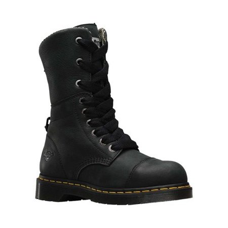 Dr Martens Steel Boots (Women's Dr. Martens Work Leah Steel Toe Boot)