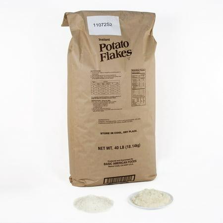 Baf Potato Pearls 20696 Baf Potato Flakes, Low Sodium, 1088 Half-Cup Servings, 1/40 Lb Bag (Potato Flakes)