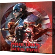 Pyramid America Captain America: Civil War Cast Collage Canvas Wall D cor