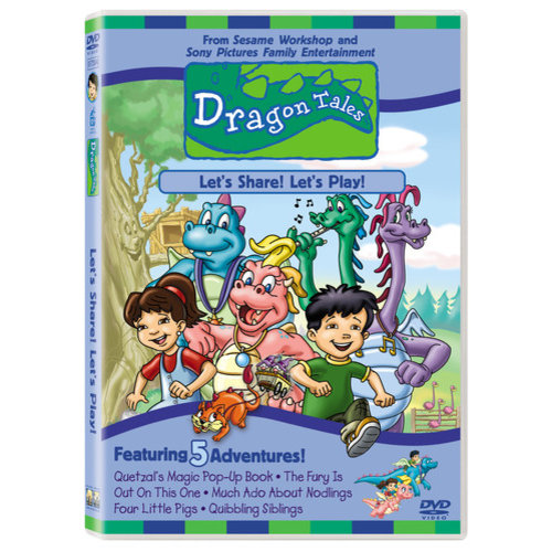 Dragon Tales, Vol. 2: Let's Share! Let's Play! (Full Frame)