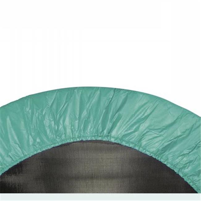 Upper Bounce  38 in. Round Trampoline Safety Pad - Spring Cover for 6 Legs - Green