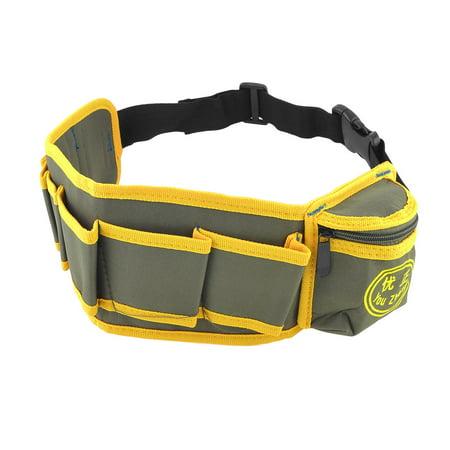 - Unique Bargains Side Release Buckle Closure Electrician Tool Belts Bag Waist Pouch