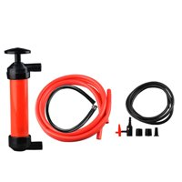 Portable Manual Oil Pump Siphon Tube Car Hose Fuel Gas Extractor Transfer Sucker Inflatable Pump Tool Automobile Emergency Supplies