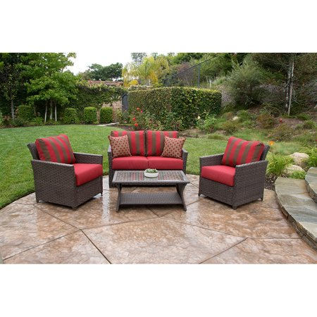 Better Homes And Gardens Rushreed Deep Seating 4 Piece