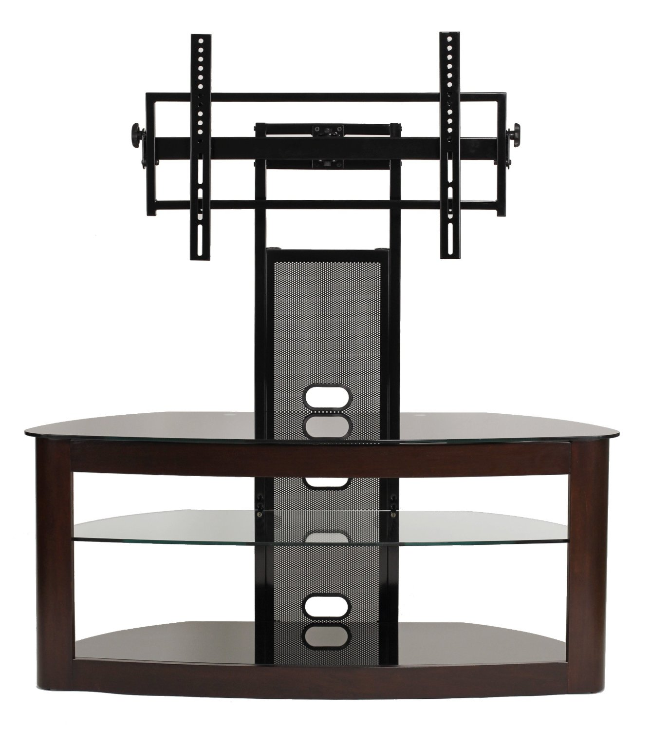 Transdeco Tv Stand With Universal Mounting System For 35 To 65 Inch