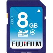 Fujifilm 600008956 8 GB Secure Digital High Capacity (SDHC) - 1 Card - Class 4 - Fuji