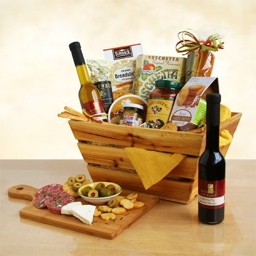 A Sicilian Christmas Deluxe Italian Foods Gourmet Gift Basket