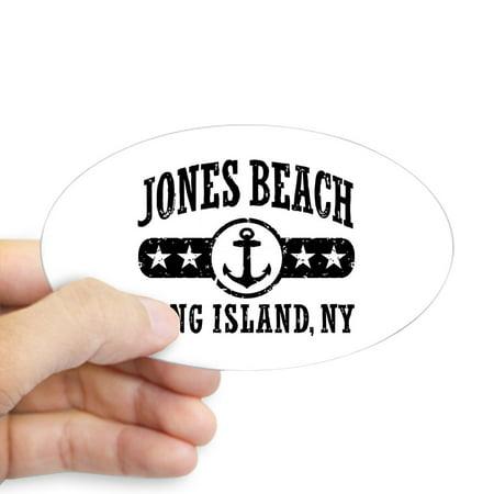 CafePress - Jones Beach Long Island NY - Sticker (Oval) ()