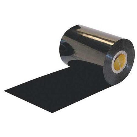 CRANE CONSUMABLES ZEB110450VW Thermal Ribbon, 4-11/32inx1476 ft, Wax, PK6 1476ft Thermal Wax Ribbon