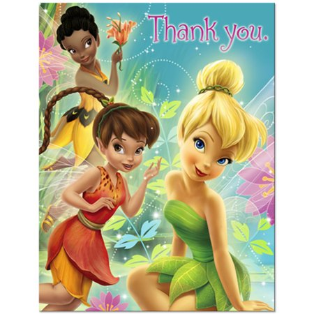 - Tinker Bell and the Disney Fairies Thank You Notes w/ Env. (8ct)