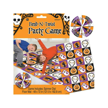 Halloween Bend And Twist Party Game (Each) - Party Supplies - Halloween Party Homemade Games