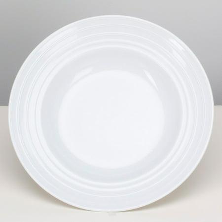 OmniWare Culinary Pro Ware Circles Pasta Plate