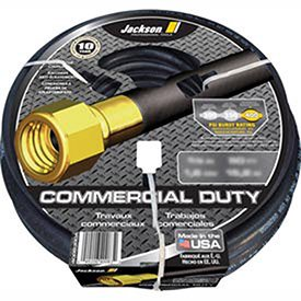 """Jackson® Professional Tools 5/8"""" X 100' Rubber Commercial Garden Hose, Lot of 1"""
