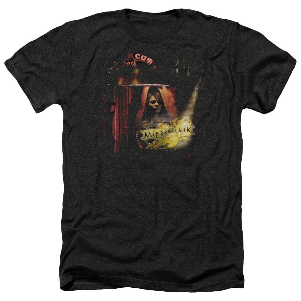 Mirrormask Big Top Poster Mens Heather Shirt