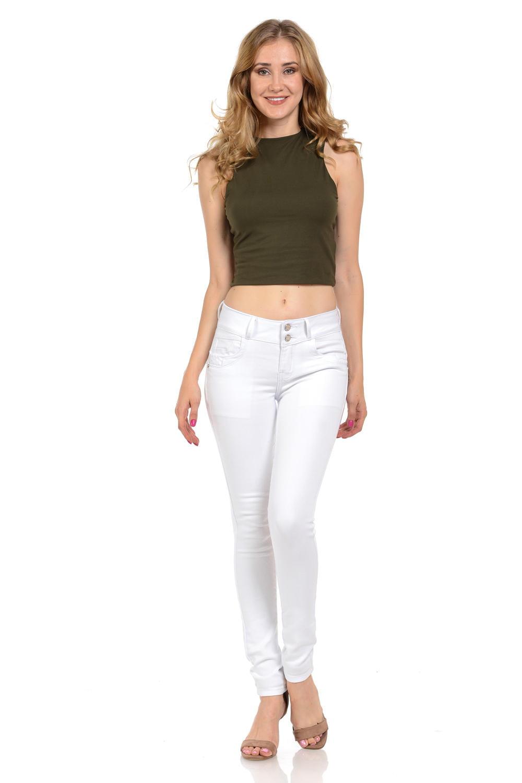M.Michel Women's Jeans Colombian Design, Butt Lift, Levanta Pompa, Push Up, Skinny · Style N3450