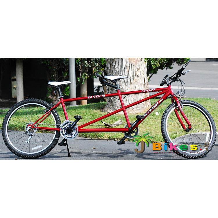 Micargi Sport 21 Speed Tandem Bicycle, Red - 26""