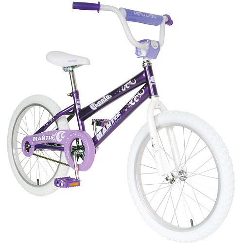 Mantis Ornata 20 Kids Bicycle (Purple 20 inch X 12 inch) by Cycle Force Group