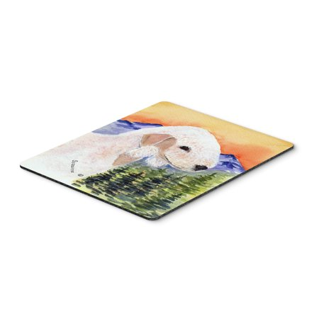 Bedlington Terrier Mouse Pad / Hot Pad / Trivet