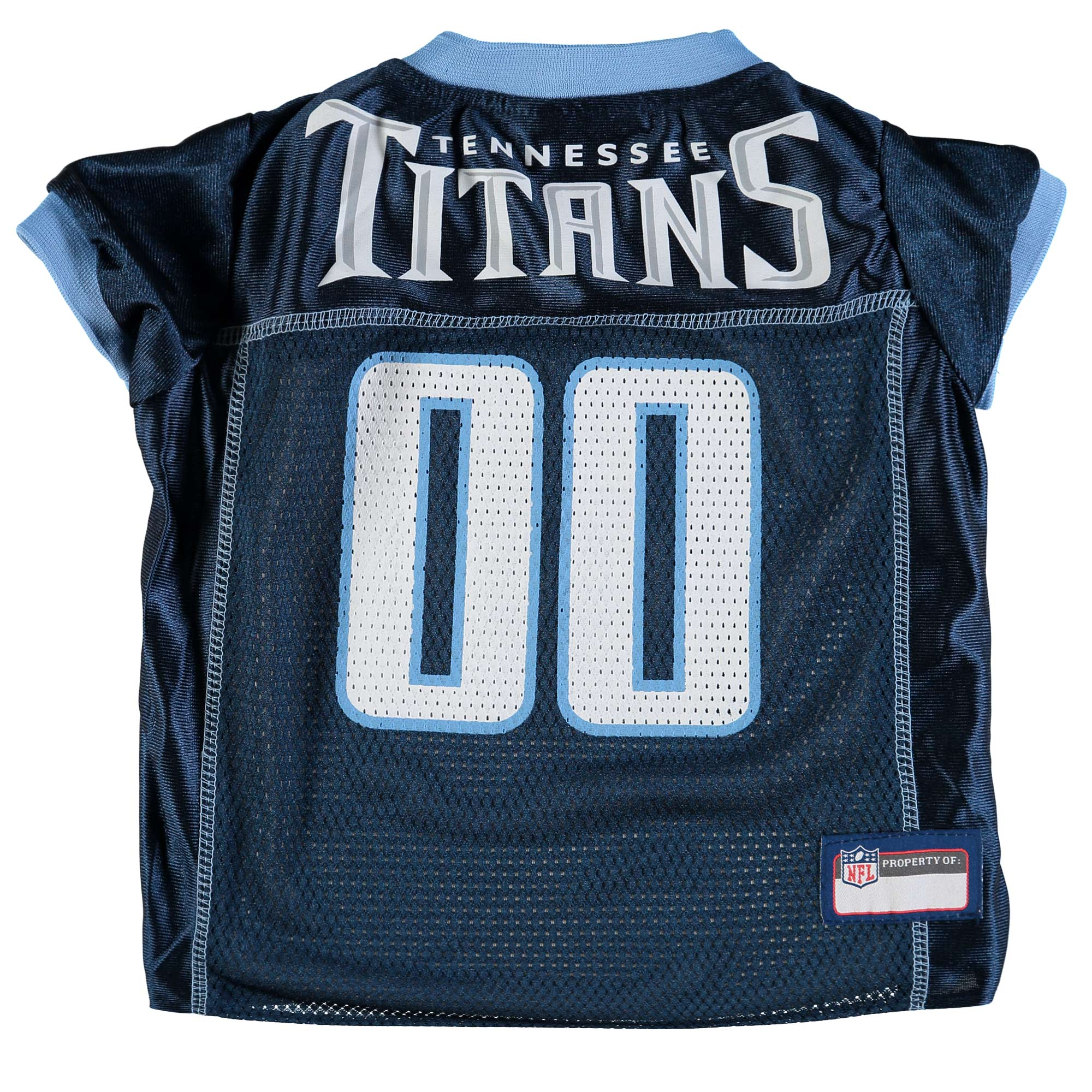 Tennessee Titans Mesh Dog Jersey