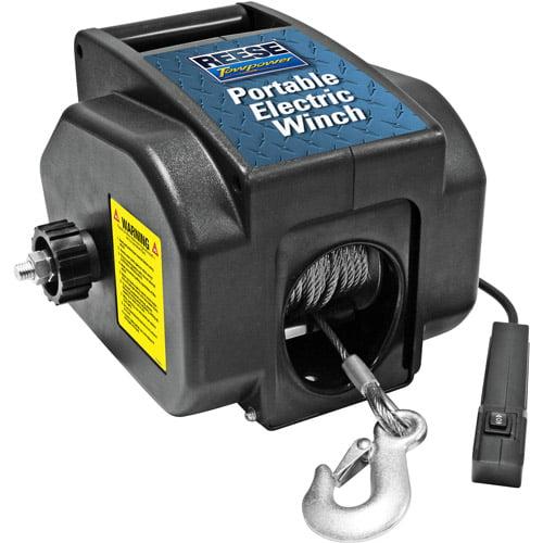 Reese Towpower Portable Electric Winch Walmart Com Walmart Com