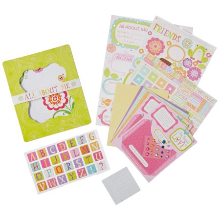American Girl Crafts Mini Scrapbook Journal Kit for Girls, 266pc - Arts And Craft Stores