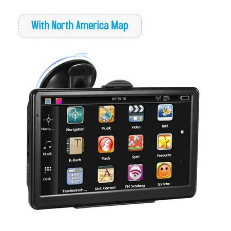 Car Portable GPS Navigator 7