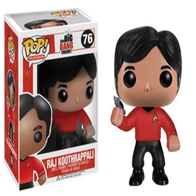 Funko POP Television Raj Star Trek Vinyl Figure by