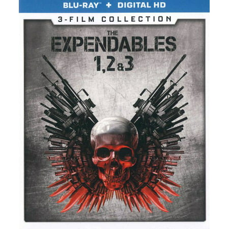The Expendables 1, 2 & 3: 3-Film Collection (Blu-ray)