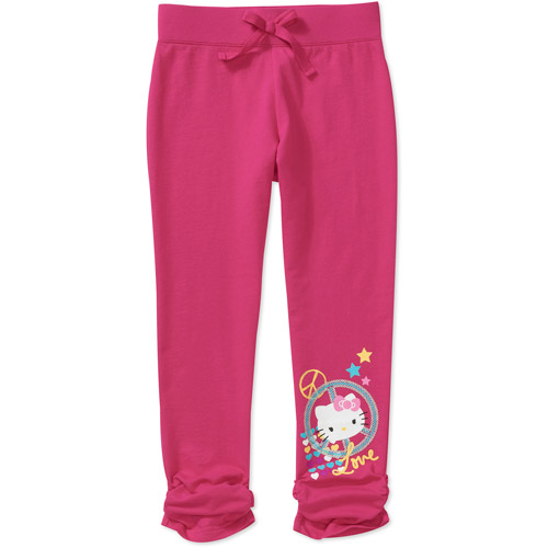 Hello Kitty - Girls' French Terry Graphic Pant