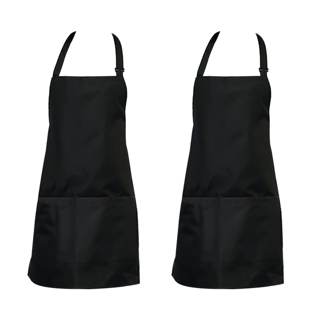 Industrail Bib Waterproof Apron Long Cooking Aprons for Men Women Chef