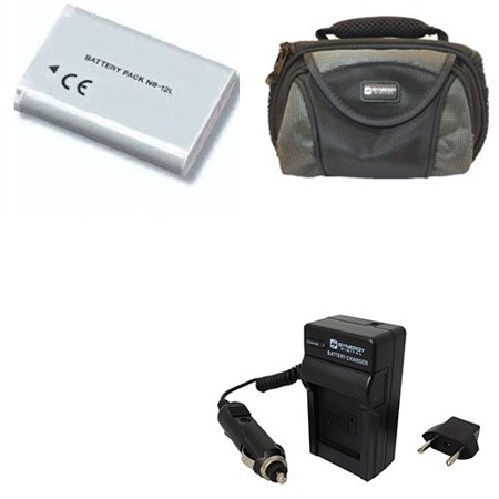 Canon Legria mini X Camcorder Accessory Kit includes: SDC-26 Case, ACD430 Battery, PT90 Charger ()