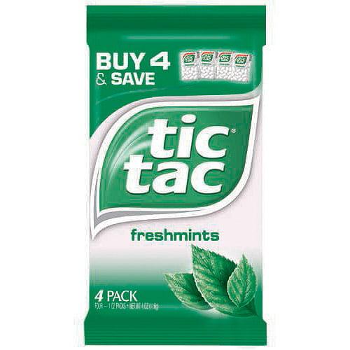 Tic Tac Mint, 4 pk