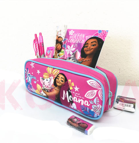 7pc Disney Moana Stationery Set Party Favor School Supplies Gift Pink