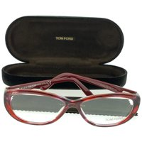 5fb6a4c4ee Product Image Tom Ford FT5226-068 Women s Stripped Red Frame Clear Lens  Genuine Eyeglasses NWT