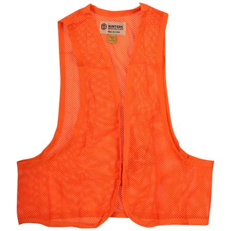 Hunters Specialities™ Blaze Orange Mesh Safety - Orange Vest