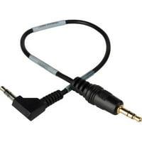 Sescom LN2MIC-ZOOMH4N 3.5mm Line to Mic 25dB Att. 9 Inch DSLR Cable fo