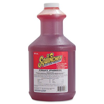 Sqwincher 64 Oz Liquid Concentrate Fruit Punch Electrolyte Drink. (4 Each)](Alcoholic Halloween Punch Drinks)