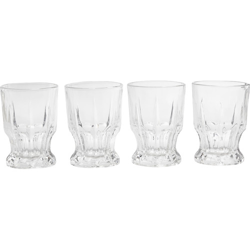 Circle Glass Admiration 7.7 oz. Cut DOF Glass (Set of 4) by