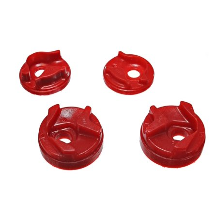 Energy Suspension 02-03 Nissan Sentra/200SX Red Motor Mount Insert Set (w/ Spec V 2.5L engine
